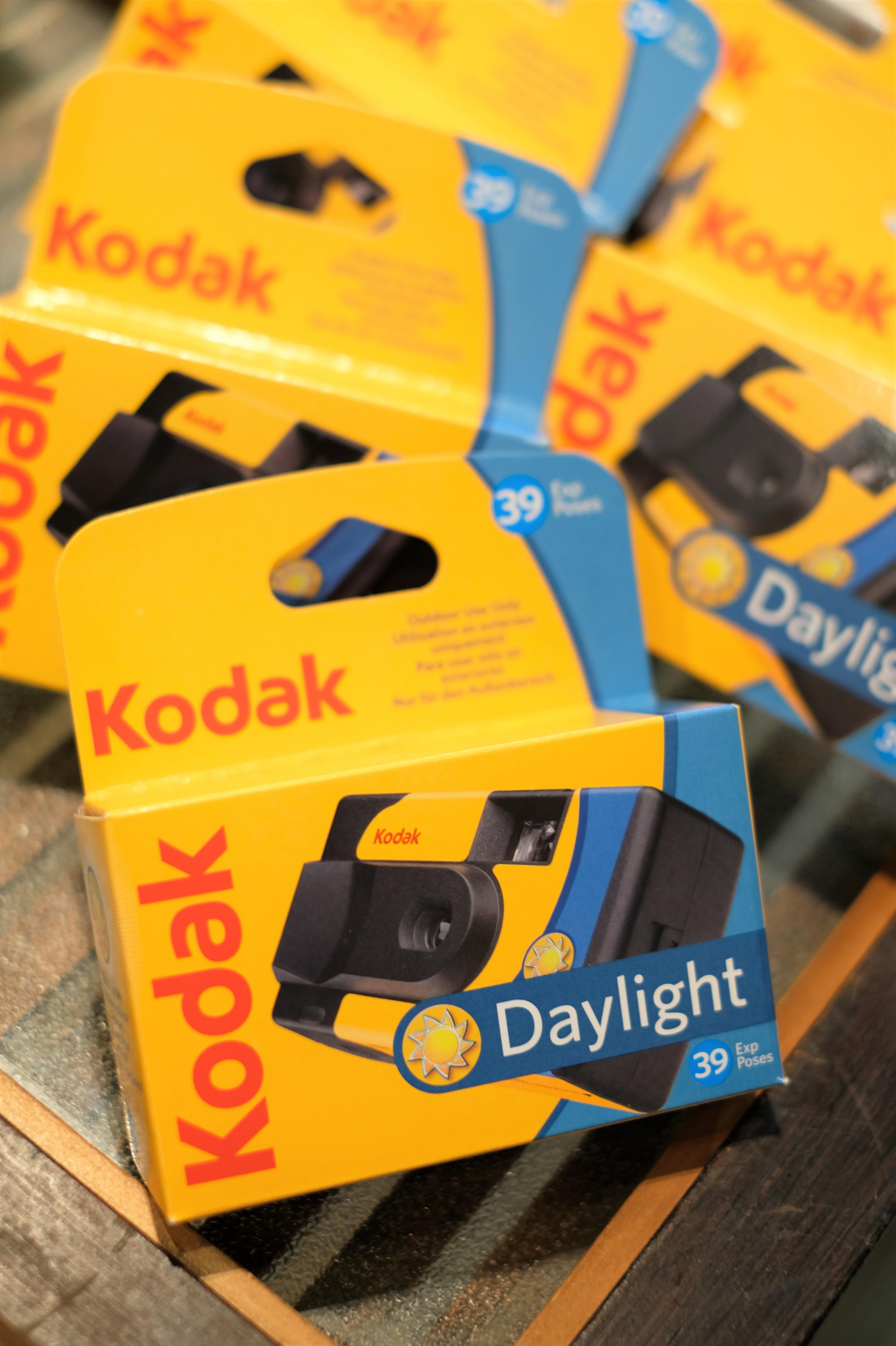 Kodak 室外專用 彩色即可拍 ISO800