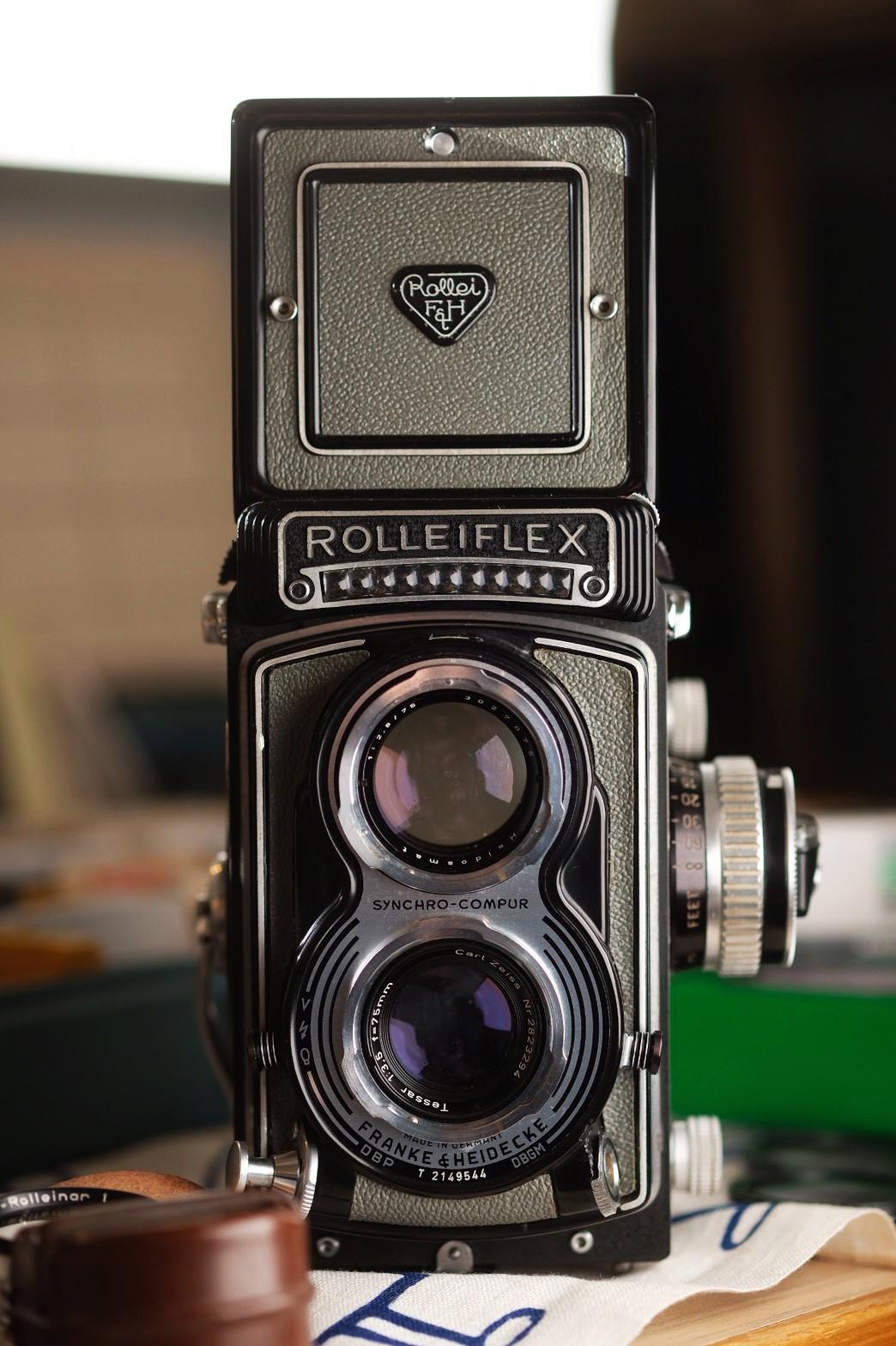 Rolleiflex T (3.5T) 灰色蒙皮版