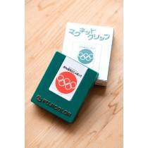 Fujicolor 絕版磁鐵夾 綠
